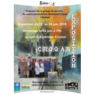 Vernissage de l'exposition de Croq'Art
