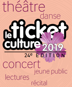 Sites > Centres socioculturels > Ticket culture > Ticket culture 2019